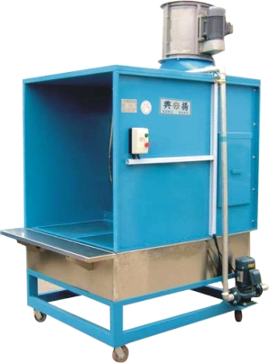 XY-818 - washing type spray paint table (movable type)